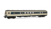 Rivarossi 4182 Set x 2 Coaches Silberlinge, DB epoch IV, livery blue-beige