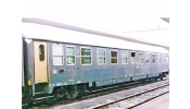 ACME 50540 Couchette car, type X, 1st+2nd class, for international trains, livery slate grey