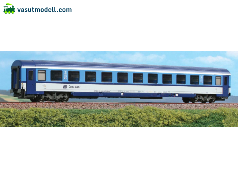 ACME 52571 2nd class car Bmz of the czech railway CD, Najbrt, with black windows frame (ex ÖBB)