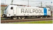 ACME 65462 Villanymozdony, TRAXX 3, 187 005 of the leasing Company Railpool - AC