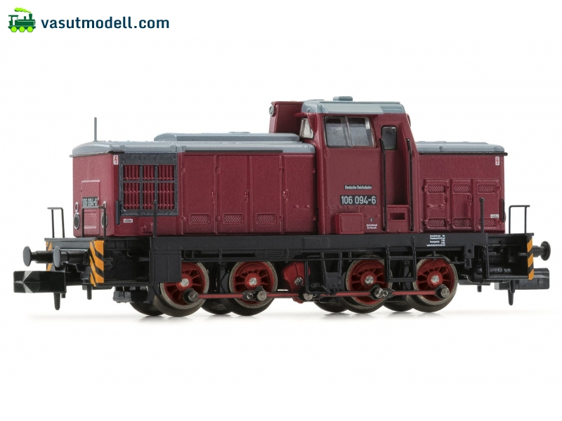 ARNOLD 2268 Dízelmozdony, class V 60D, DR, period IV, livery red/grey DC Digital