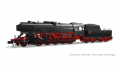 ARNOLD 2429 DB, steam locomotive class 42 in black/red livery, 42 555, period III