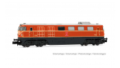 ARNOLD 2489 diesel locomotive class 2050, ÖBB, 2050.02, orange livery with small triangle, period IV