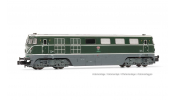 ARNOLD 2490 diesel locomotive class 2050, ÖBB, 2050.05, green livery with big triangle, period V