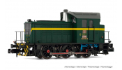 ARNOLD 2509 RENFE, diesel shunting locomotive, Dark green/yellow livery