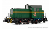 ARNOLD 2510 RENFE, diesel shunting locomotive class 303, green/yellow livery, period IV