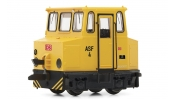 ARNOLD 9040 Accumulator shunting locomotive ASF, DB AG, yellow/black, period 5-6