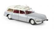 BREKINA 14216 Citroen DS Break silbergrau/weiß, TD