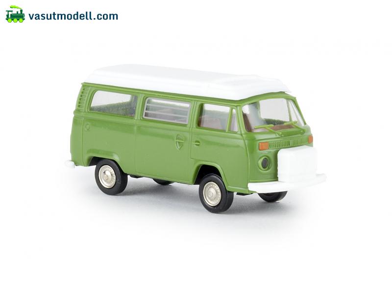 brekina 33139 vw camper t2 taigagr n mit aufstelldach. Black Bedroom Furniture Sets. Home Design Ideas