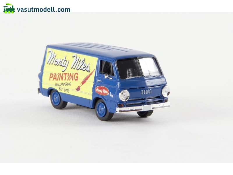 Brekina 34365 dodge a 100 van painting td for A 100 paint