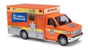 BUSCH 41839 Ford E-350 St.Luke Ambulance