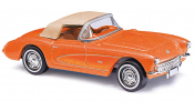 BUSCH 45428 Corvette Cabrio orange