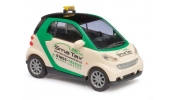 BUSCH 46123 Smart Fortwo07 Taxi