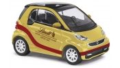 BUSCH 46205 Smart Fortwo 2012 Lindtgold