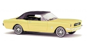BUSCH 47524 Ford Mustang/Softtop gelb