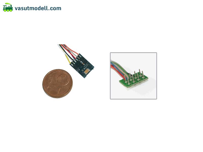 ESU 54683 LokPilot micro V4.0, multiprotokoll dekóder, MM