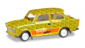 HERPA 027625 Trabant 601 Edition Trabi-world.com Modell 2 (Leopard)