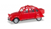 HERPA 27632-002 Citroen 2 CV m. Queue rot
