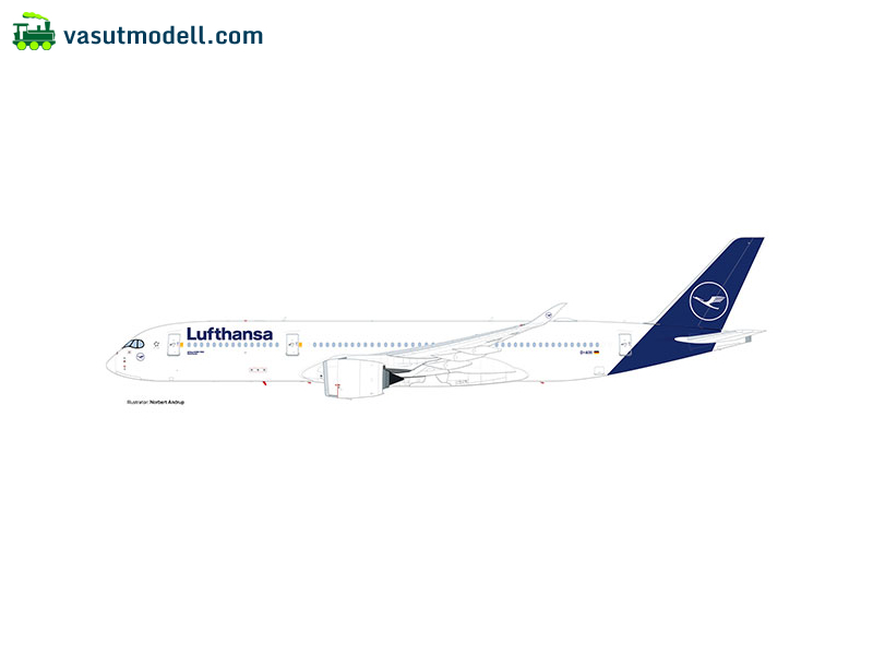 HERPA 532983 Airbus A350-900 Lufthansa - new colors