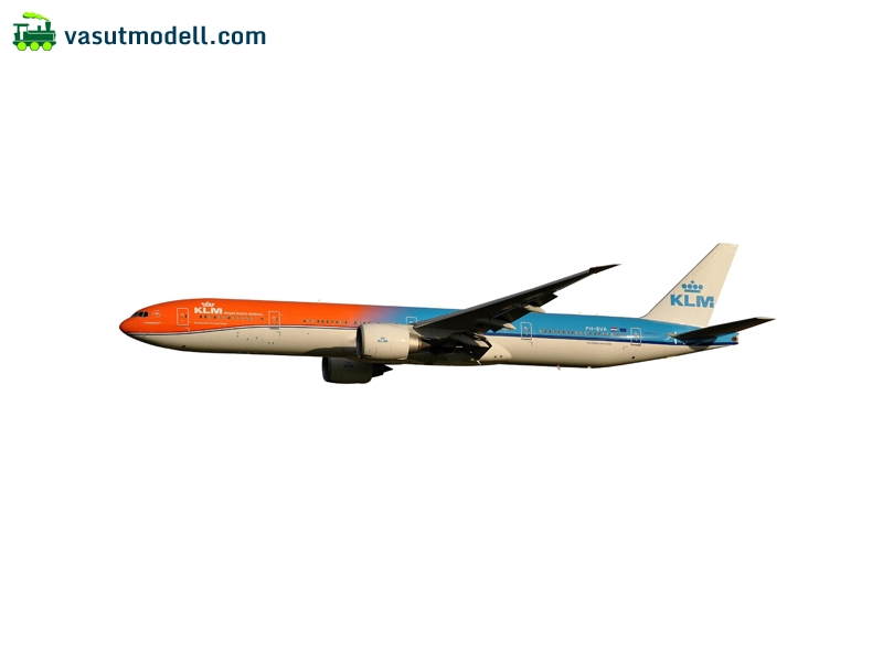 HERPA 611275 KLM Boeing 777-300ER Orange Pride