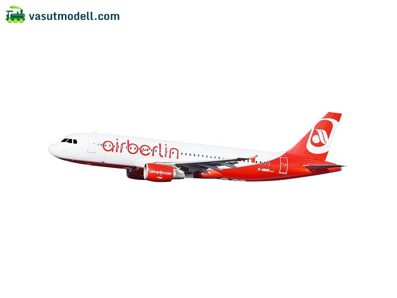 HERPA 611923 A320 airberlin Last Flight