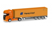 HERPA 66594 Scania R TL Container-Sattelzug Hapag Lloyd