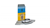 HERPA 800082 Herpa City: Post-Shop mit Porsche