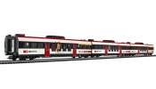 LILIPUT 133961 center coach set Glarner B+Abt+Bt