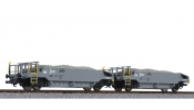LILIPUT 230111 Ballast Wagon Set with Ballast Load BLS Ep.VI