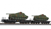 LILIPUT 230144 2-unit tank transport set