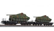 LILIPUT 230145 2-unit tank transport set