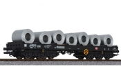LILIPUT 235769 Steel Transport Wagon with Steel Coil Load DB Ep.IV/V