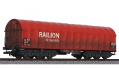LILIPUT 235774 Steel Transport Wagon RAILION DB DB Ep.V - Weathered