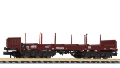 LILIPUT 265763 Steel Transport Wagon with Stanchions DB Ep.IV/V