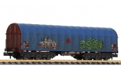 LILIPUT 265779 Steel Transport Wagon  Graffiti  Tarpaulin Hood DB Ep. V/VI
