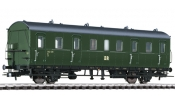 LILIPUT 334046 coach 2-axle 2nd Class R, III, with rear light