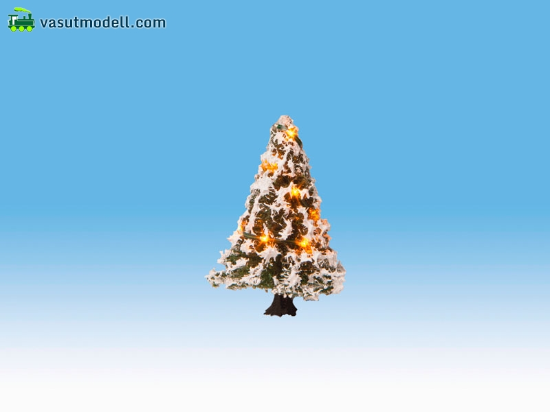 noch 22110 beleuchteter weihnachtsbaum mit 10 leds. Black Bedroom Furniture Sets. Home Design Ideas