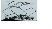 PIKO 56154 Pantograph Hlls2D for E63 (set of 1)