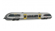 Rivarossi 2716 DB Regio, BR 641 in new silver/grey/yellow livery Der Geithainer
