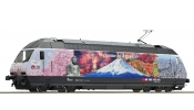 ROCO 73270 Villanymozdony, Re 460 036, Welcome to Japan, SBB, VI