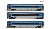 ROCO 74140 3er Set Railjet CD DCC