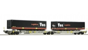 ROCO 76417 Doppeltw.T2000+Vos Logistic