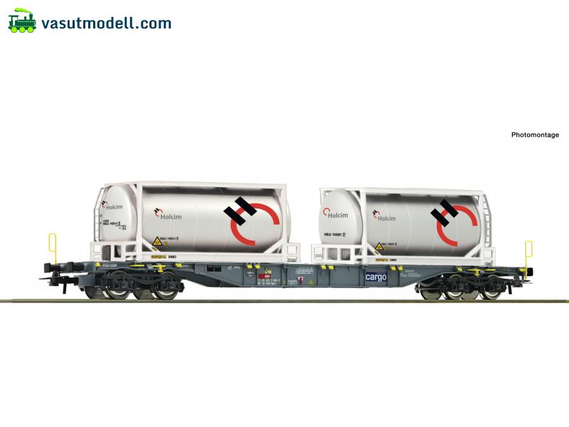 Holcim Tankcont Roco 76943 H0 Cont.Tragw. DC