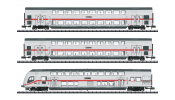 TRIX 15385 IC-Doppelstockwagen-Set DB AG