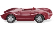 WIKING 16702 Porsche 550 Spyder - purpurrot / red