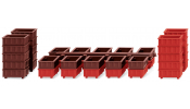 WIKING 1819 Zubehörpackung: Stapelkästen II - accessory pack - stacking containers II