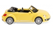 WIKING 2801 VW The Beetle Cabrio - saturn yellow