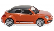 WIKING 2848 VW The Beetle Cabrio - habanero orange metallic
