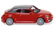 WIKING 2849 VW The Beetle Cabrio - closed - tornado red
