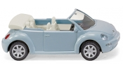 WIKING 3204 VW New Beetle Cabrio - aquariusblue metallic